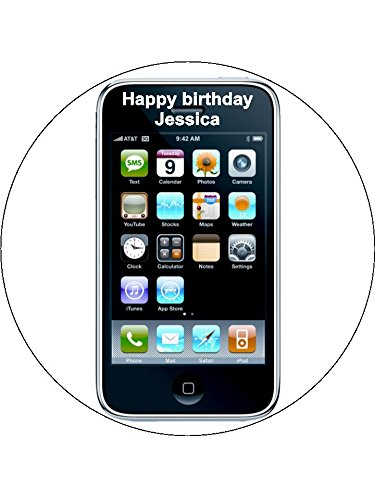 Miraculous 7 5 Iphone Iphone Personalised Edible Icing Birthday Cake Topper Funny Birthday Cards Online Aeocydamsfinfo
