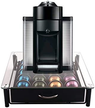 Vertuoline Capsules Storage 20 or 40 Coffee Pod Holder Drawer Space Saving