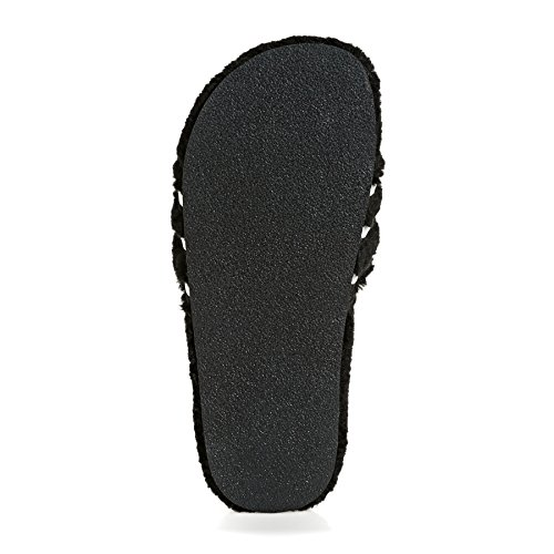 adidas Originals Adilette Sliders Sandals 5.5 B(M) US Women/4.5 D(M) US Core Black/Chalk White pay with visa SbCb7B