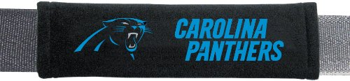 NFL Carolina Panthers Seat Belt Pad (Pack of 2) (Carolina Panthers Accessories)
