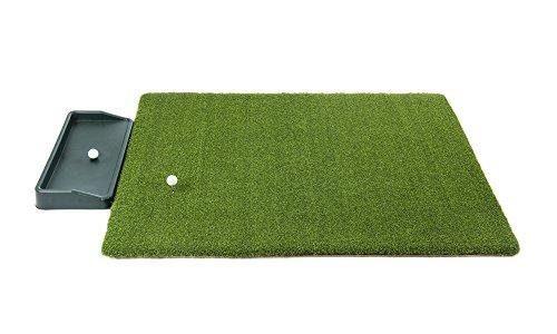 All Turf Mats Ultimate Super Tee Golf Mat with Tray – 5 feet x 5 feet