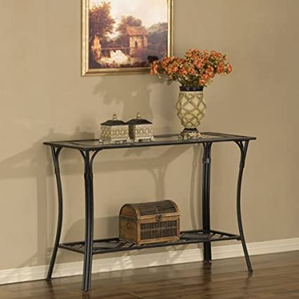 Amazon slate and glass sofa table kitchen dining slate and glass sofa table watchthetrailerfo