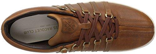 K-SWISS Men sneakers Classic 88 Horween genuine leather Braun 8nch6uvQCS