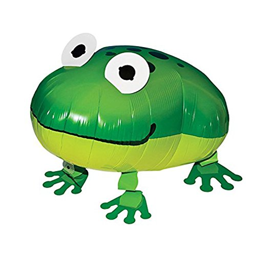 ons Frog Balloon Air Walkers, Kids Farm Animal Theme Birthday Party Supplies Birthday Decorations (Birthday Frog)