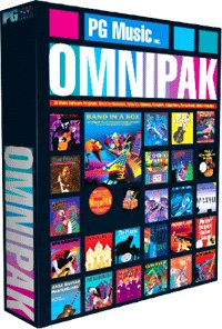 Pg Music Omni PAK Music Software -Band in a Box