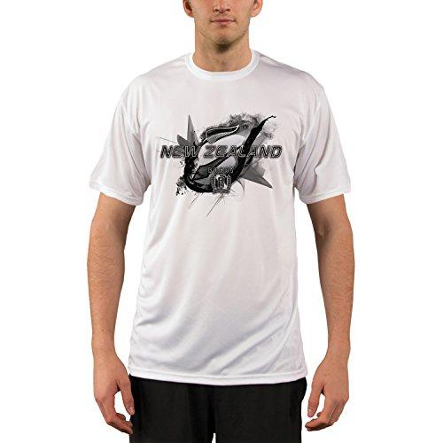 New Zealand Rugby Men's UPF Performance T-shirt Medium White