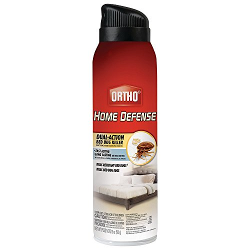 Ortho Home Defense Dual-Action Bed Bug Killer Aerosol Spray, 18-Ounce (Kills Bed Bugs, Fleas, Dust Mites & Stink Bugs) (Bed Bug Spray Killer compare prices)