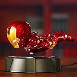 Marvel Avengers , Magnetic levitation Illuminated Iron Man , Child Boys Girls Gift (Mark 43)