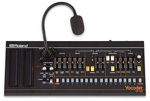 Roland VP-03 Boutique Series Portable Vocoder with Voice Step Sequencer and Built-in Gooseneck Mic ()