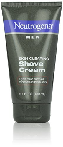 Neutrogena Men Skin Clearing Shave Cream, 5.1 Fluid Ounce (Pack of 6)