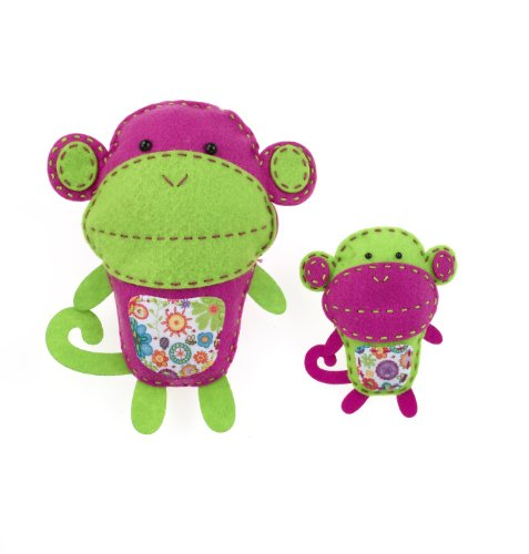 American Girl Crafts Monkeys Sew and Stuff Kit Perforated Sewing