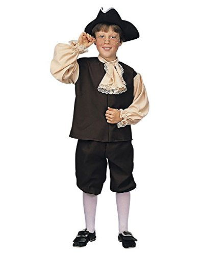 Rubie's Child's Colonial Boy Costume, -