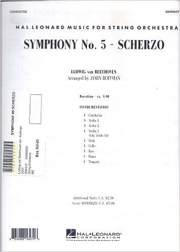 Amazon com: Symphony No  5 - Scherzo (Hal Leonard Music for