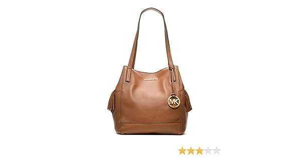 Michael Kors Ashbury Large Leather Shoulder Bag in Acorn  Handbags   Amazon.com d52eb2db6d87d