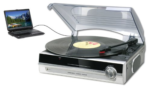 Sylvania SRCD872 Turntable with Direct Encoding to PC (Discontinued by Manufacturer)