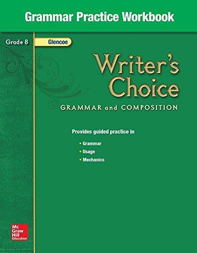 Writers Choice Grammar Practice Workbook Grade 8