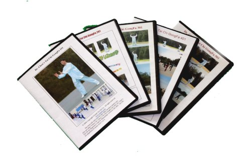 - Dr. Chen's Tai Chi GongFa DVDs 5 in 1 pak (Easy, Fun and Effective Tai Chi Qigong Workout 5 levels)