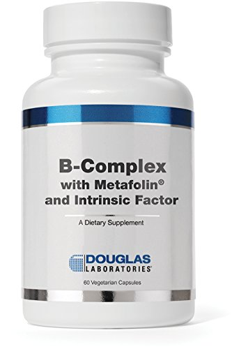 Douglas Laboratories® - B-Complex w/ Metafolin - Supports Blood Cells, Hormones, and Nervous System* - 60 Capsules