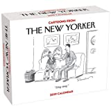 2019 Cartoons From New Yorker Page-A-day Daily Desk/Box Calendar
