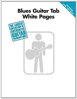 Amazon com: Blues Guitar Tab White Pages (0884088155278): Hal