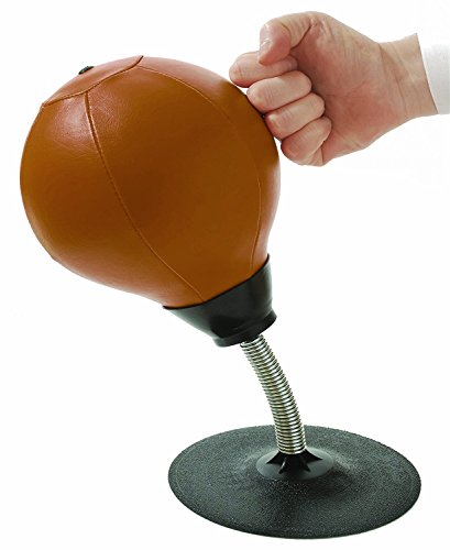 Stress Buster Desktop Punching Ball - Heavy Duty Stress Relief - Suctions to Your Desk by Tech Tools