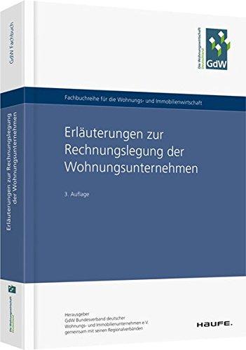 Erläuterungen zur Rechnungslegung der Wohnungsunternehmen (Hammonia bei Haufe) Taschenbuch – 13. Februar 2017 Haufe Lexware 3648079700 Wohnungswirtschaft BilMoG