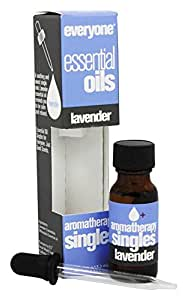 EO Products - Everyone Aromatherapy Singles Essential Oils Lavender - 0.45 fl. oz.