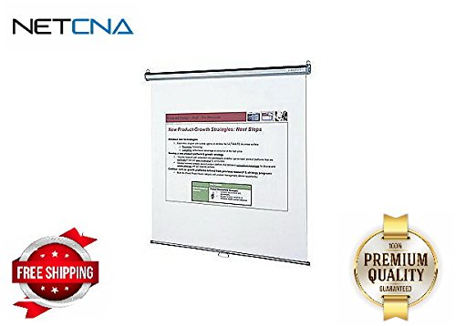 Quartet Wall/Ceiling Projection Screen - By NETCNA