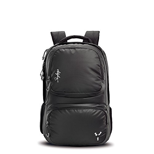 Skybags Ion 31 Ltrs Black Laptop Backpack (LPBPION1BLK)