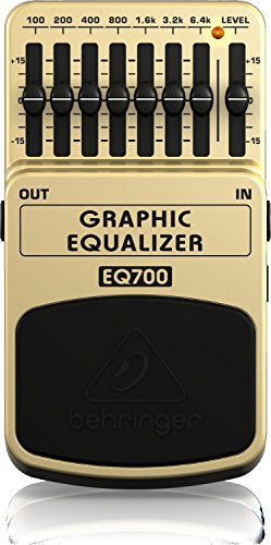 Behringer Graphic Equalizer EQ700 Ultimativer grafischer 7-Band Equalizer