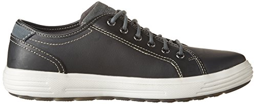 Skechers Mens Porter Ressen Oxford Nero / Bianco