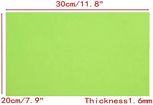 YWILLINK 20x30cm Resin Stamp Making DIY Photopolymer Plate Craft Letterpress Polymer