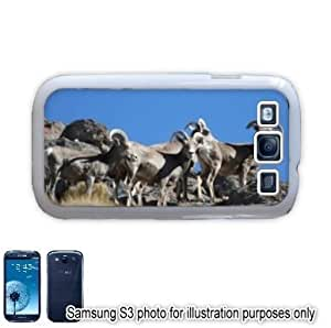 Bighorn Sheep Photo Samsung Galaxy S3 i9300 Case Cover Skin White