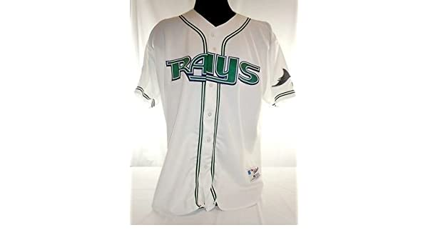 brand new 618c8 9afd1 Tampa Bay Devil Rays Vintage Authentic Russell Home Jersey w ...