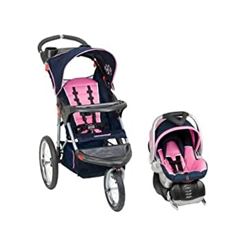 d95497a05dca0 Amazon.com : Baby Trend Expedition Swivel Jogging Stroller Travel System -  Hanna : Graco Jogger Travel System : Baby