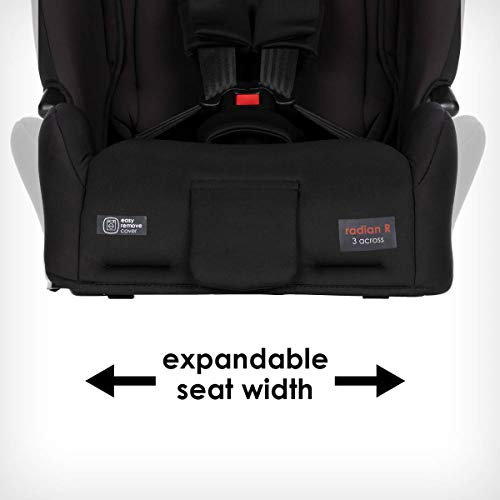 417vHsIXJPL - Diono 2020 Radian 3R, 3 In 1 Convertible, 10 Years 1 Car Seat, Slim Fit Design, Fits 3 Across, Black Jet
