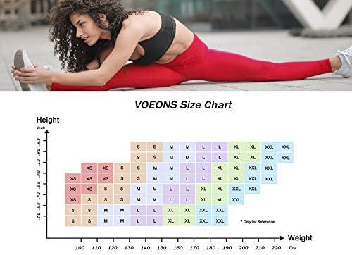 voeons yoga pants size chart