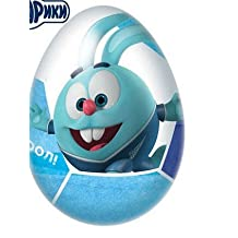 """""""Smeshariki ZENIT"""" Chocolate egg with a surprise (100% of games) 6/24, 20g"""