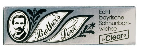 Brother`s Love 9317 Schnurrbartwichse clear 10ml by Brother's Love