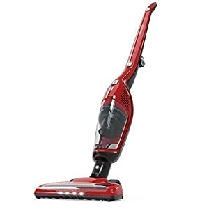 Anker HomeVac Duo 2-in-1 Cordless Vacuum Cleaner, Rechargeable Bagless Stick and Handheld Vacuum with Upright Charging Base - Red