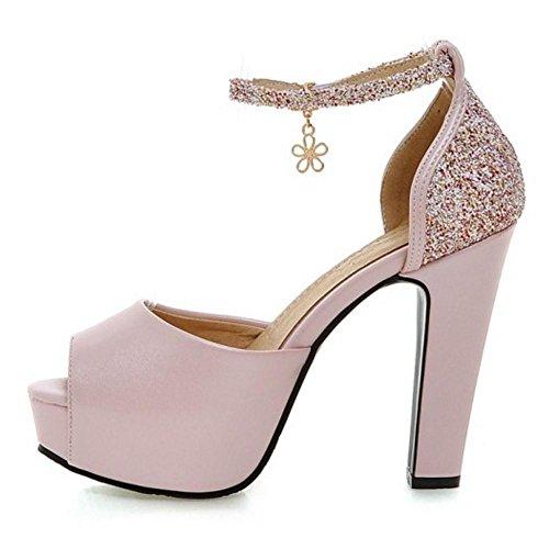 Sandales Femmes Chaussures Coolcept À Talons 06 Femmes Rose Hauts Sandales Coolcept IHn77dwaCq