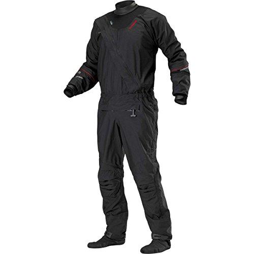 Stohlquist Ez Drysuit (Black, Large)