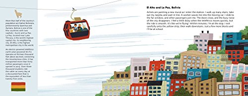 Adventures to School: Real-Life Journeys of Students from Around the World by little bee books (Image #3)