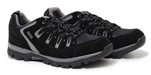 Herren Trekking Outdoor Walking Wanderschuhe Sportschuhe Sneaker WETTERFEST