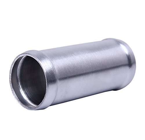 Hiwowsport Alloy Aluminum Hose Adapter 76mm Length Joiner Pipe Connector Silicone (32mm (1.3 inch))