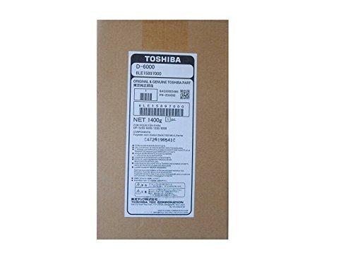 Genuine Toshiba 6LE15897000 (D-6000) Black Developer by Toshiba Inc