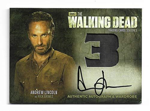 2014 The Walking Dead Season 3 Part 2 ANDREW LINCOLN as Rick Grimes Autograph Wardrobe AM9