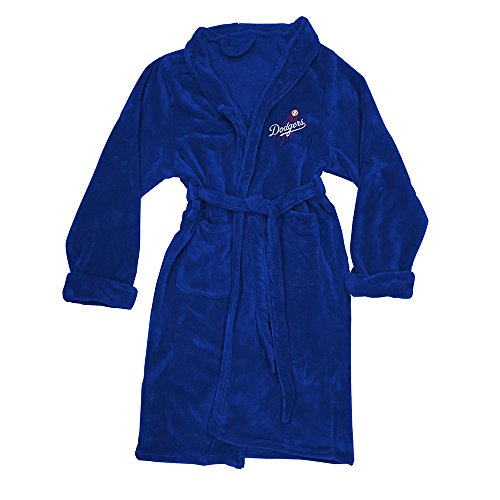 The Northwest Company MLB Los Angeles Dodgers Men's Bathrobe, One Size, Multicolor (Mlb Accessories Mens)