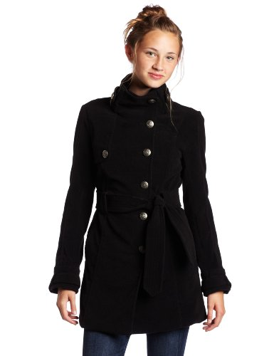 Jack by BB Dakota Women's Romaine Plush Coat with Belt