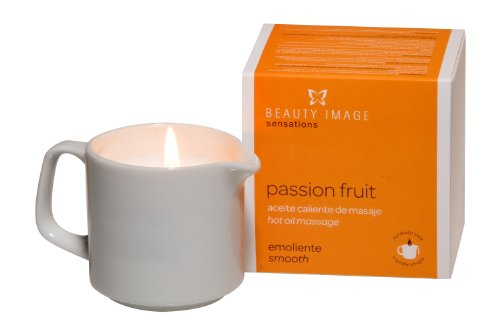 Beauty Image Passion Frugt Hot Oil Body Massage Candle - Køb online i Uae-8514